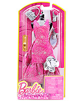 Buy Barbie Fashion Flower Gown - Pink