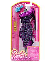 Buy Barbie Fashion Gown - Purple