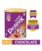 Protinex Junior Chocolate Flavour Tin 400 Gm, High Protein Nutritional Supplement