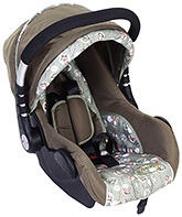 Fab N Funky Car Seat Cum Carry Cot - Animal Print