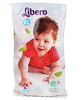 Buy Libero Baby Open Diaper Extra Large - 2 Pieces