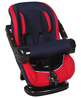 Fab N Funky Baby Car Seat - Red and Blue