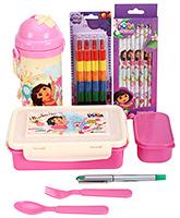 Buy Dora The Explorer School Kit - Set Of 5