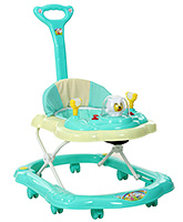 Fab N Funky Musical Baby Walker With Push Handle