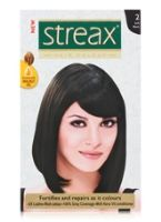 Streax Hair Colour - 2 Soft Black