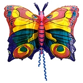 Wanna Party Butterfly Shaped Balloon - Multi Color
