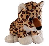 Soft Buddies Wild Animal Leopard Soft Toy Brown - Large