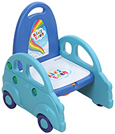 Fab N Funky Potty Training Seat With Car Design - Blue