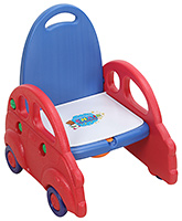 Fab N Funky Potty Training Seat With Car Design - Blue and Red