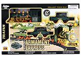 Fab N Funky Military Train Set - Dark Green