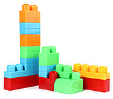 Fab N Funky Building Set Multi Color - 20 Pieces