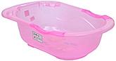 Fab N Funky Bath Tub Cartoon Print - Pink