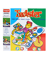 Funskool - Twister The Game That Ties Yo... 4 Years+, 2 - 4 Players, Twist, Bend & Stretch Your ...