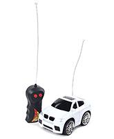 Fab N Funky Velocity Mini Racing Remote Control Car - White