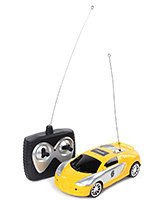Fab N Funky Remote Control Car Dual Color - Yellow and Silver