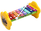 Fab N Funky Xylophone Music Marker Print - Yellow