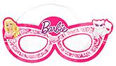 Barbie Paper Eye Masks - Pack Of 8