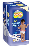 Cumfy Dry Xtra Care Pull Up Pants Medium - 46 Pieces