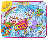 Fab N Funky Musical Play Mat Multi Color - Animal Print