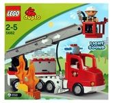 Lego - Fire Truck 2 - 5 Years, Fine motor skills, Shapes and colors, S...