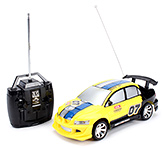 Fab N Funky Remote Control Car - Yellow And Black