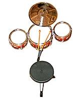 Adraxx Liitle Master Rock Band Drum Set Toy