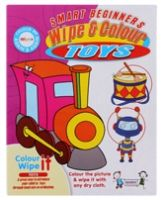 Colouring Book - Quixot - Wipe & Colour Toys