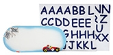 Kidoz Transport Name Plaque Medium - Multi Color