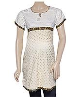 Uzazi Maternity Tunic Top Short Sleeves