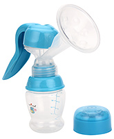 Buy 1st Step Manual Breast Pump - Blue