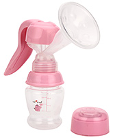 Buy 1st Step Manual Breast Pump - Pink