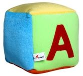 1st Step - Square Shaped Soft Toy Multi-color soft toy for kids