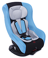Fab N Funky Baby Car Seat Forward And Rear Facing - Light Blue and Grey
