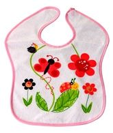 1st Step - Butterfly Bib