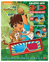 Parragon Go Diego Go 3D Story and Activity Book -