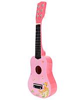 Fab N Funky Wooden Baby Guitar - Pink