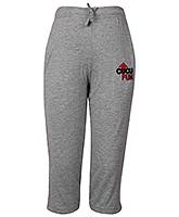 Cucu Fun Track Pants With Draw String - Grey