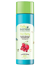 Biotique Bio Berry Sensitive Mommy And Baby Bubble Bath - 210 ml