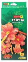 Camlin - King Colour Pencils 12 Shades Of Assorted Colour Pencils