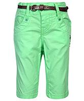 Gini & Jony Pedal Pusher With Belt - Green