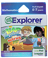 Leap Frog Explorer Learning Game - Leap School Math