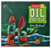 Camel - Oil Pastels 50 Shades Of Assorted Crayons