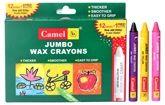 Camel - Jumbo Wax Crayons 12 Shades Of Assorted Crayons And 1 Glitter Crayon F...