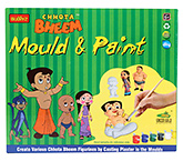 Chhota Bheem DIY Mould & Paint
