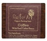 Rustic Art Coffee Organic Bathing Soap