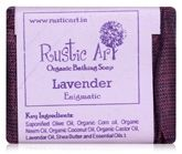 Rustic Art Lavender Organic Bathing Soap