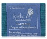 Rustic Art Patchouli Organic Bathing Soap