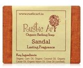 Rustic Art Sandal Organic Bathing Soap