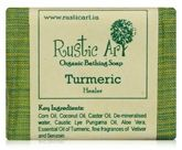 Rustic Art Turmeric Organic Bathing Soap