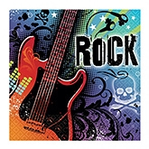 Wanna Party Rock Star Lunch Napkins - Set of 36